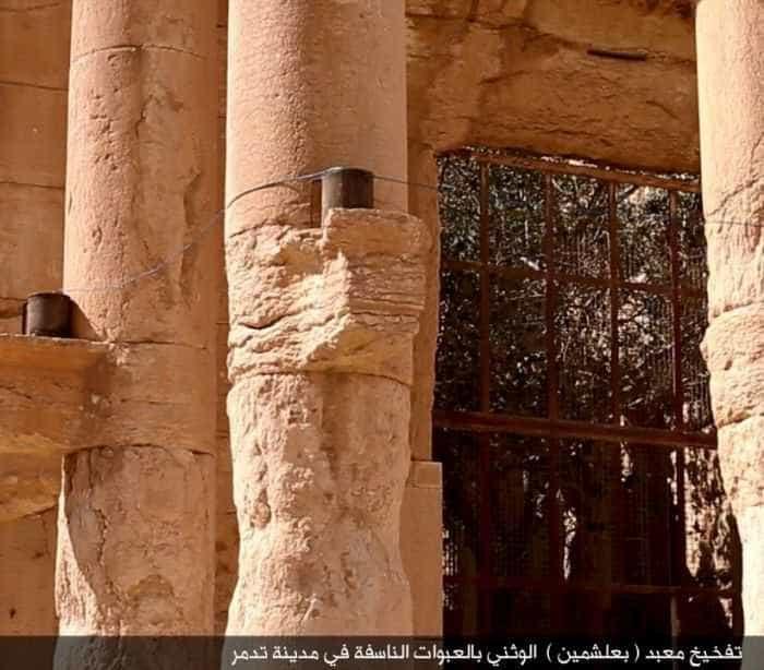 ONU confirma destruição do Templo de Bel, em Palmira, na Síria