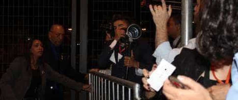 Seguranças da Presidente atacam jornalistas durante debate