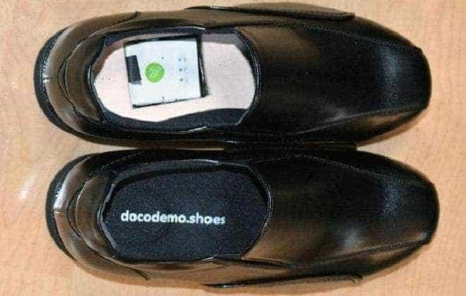 Sapato com GPS pode ajudar idosos perdidos