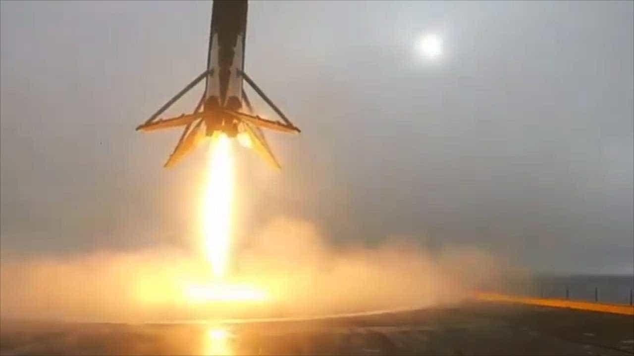 Vídeo: foguete Falcon 9 tombando e explodindo