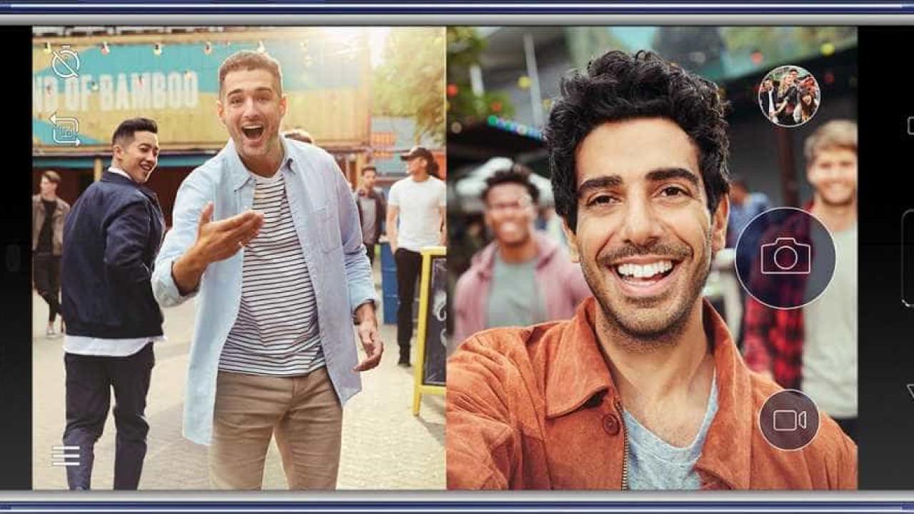 Nokia 8 permite imagens com câmeras frontal e traseira ao mesmo tempo