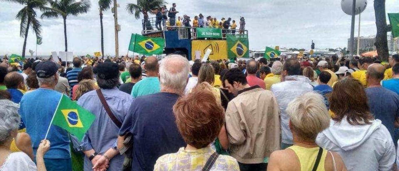 Manifestações pró-Lava Jato  reúnem milhares pelo país