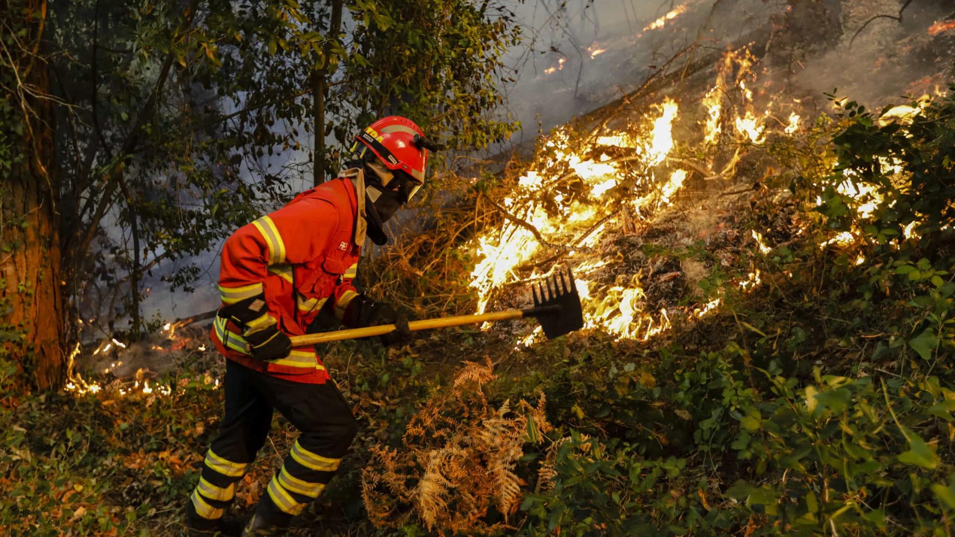 Portugal: 268 focos de incêndio registrados no sábado