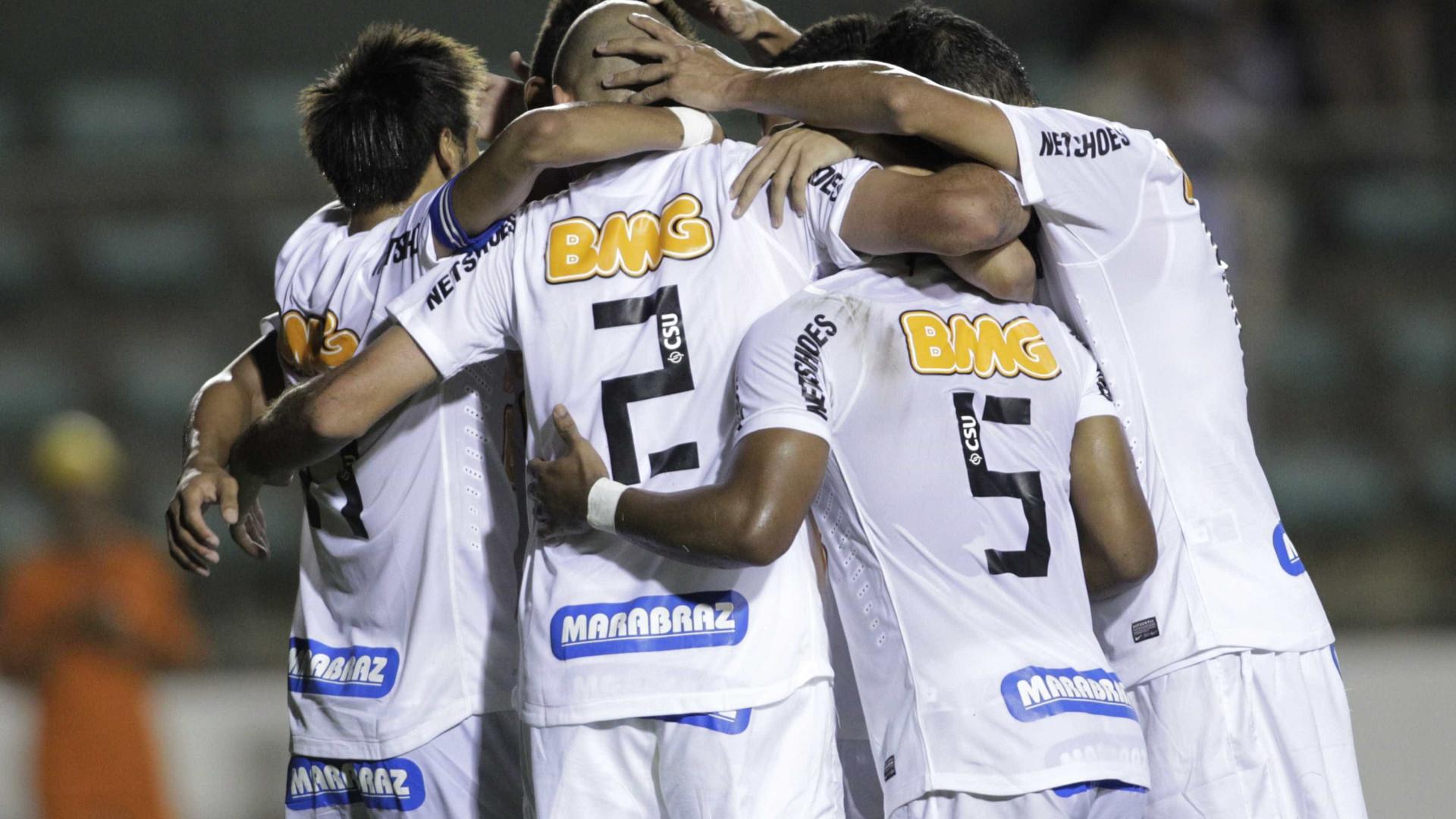 Notícias ao Minuto Brasil - Santos lança novo 2º uniforme e fará ... 57831c23c40f4