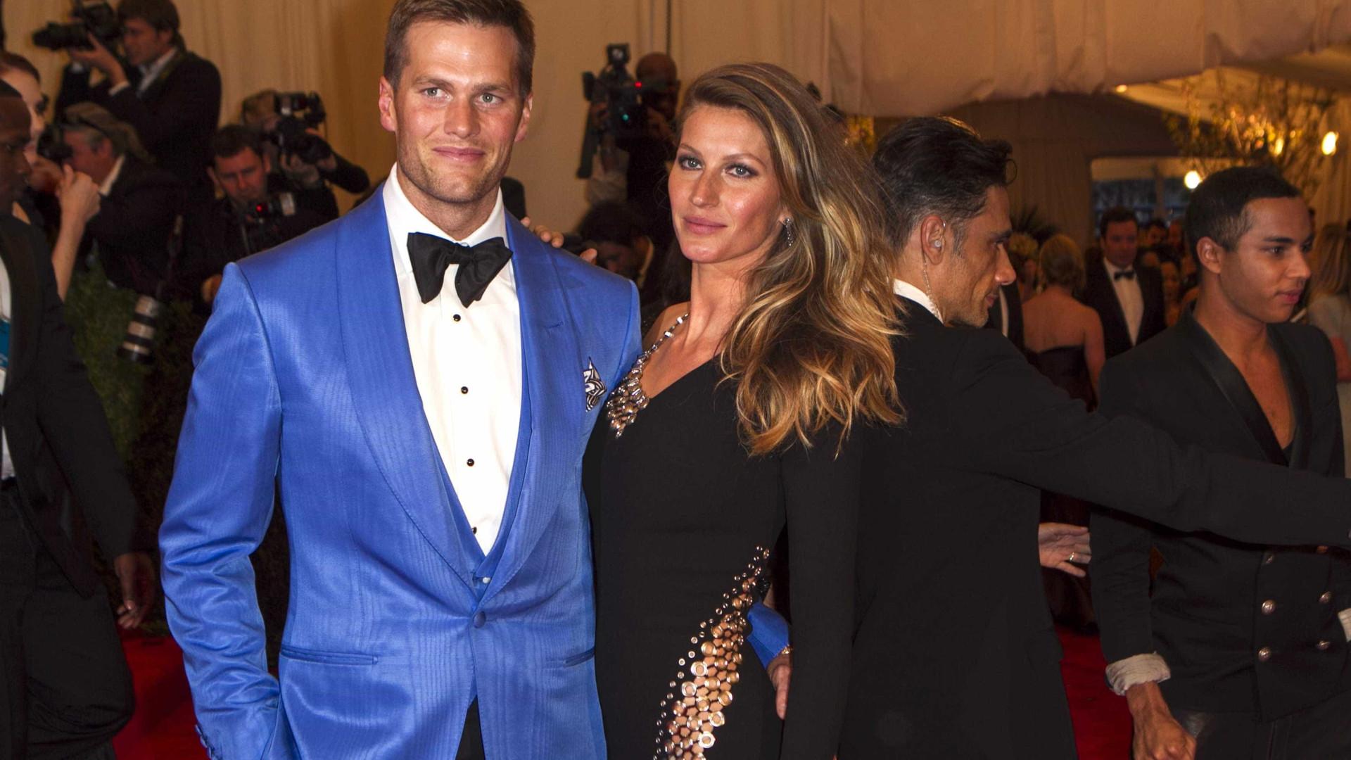 Gisele Bündchen e Tom Brady: juntos no amor, mas não na política