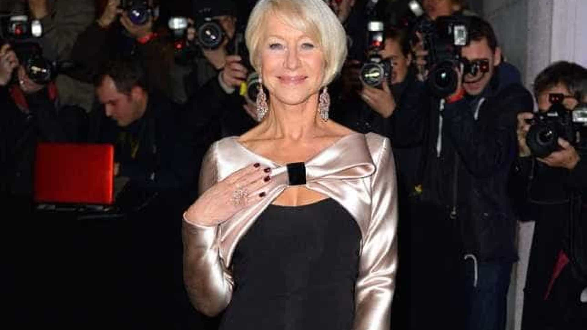 Helen Mirren conta a Ellen DeGeneres se faria 'The Crown'