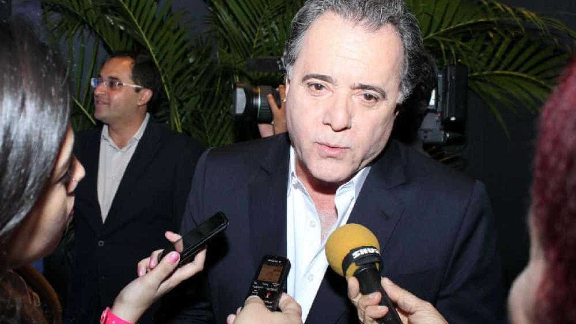 Tony Ramos pensa em cancelar contrato com Friboi: 'Tenho esse direito'