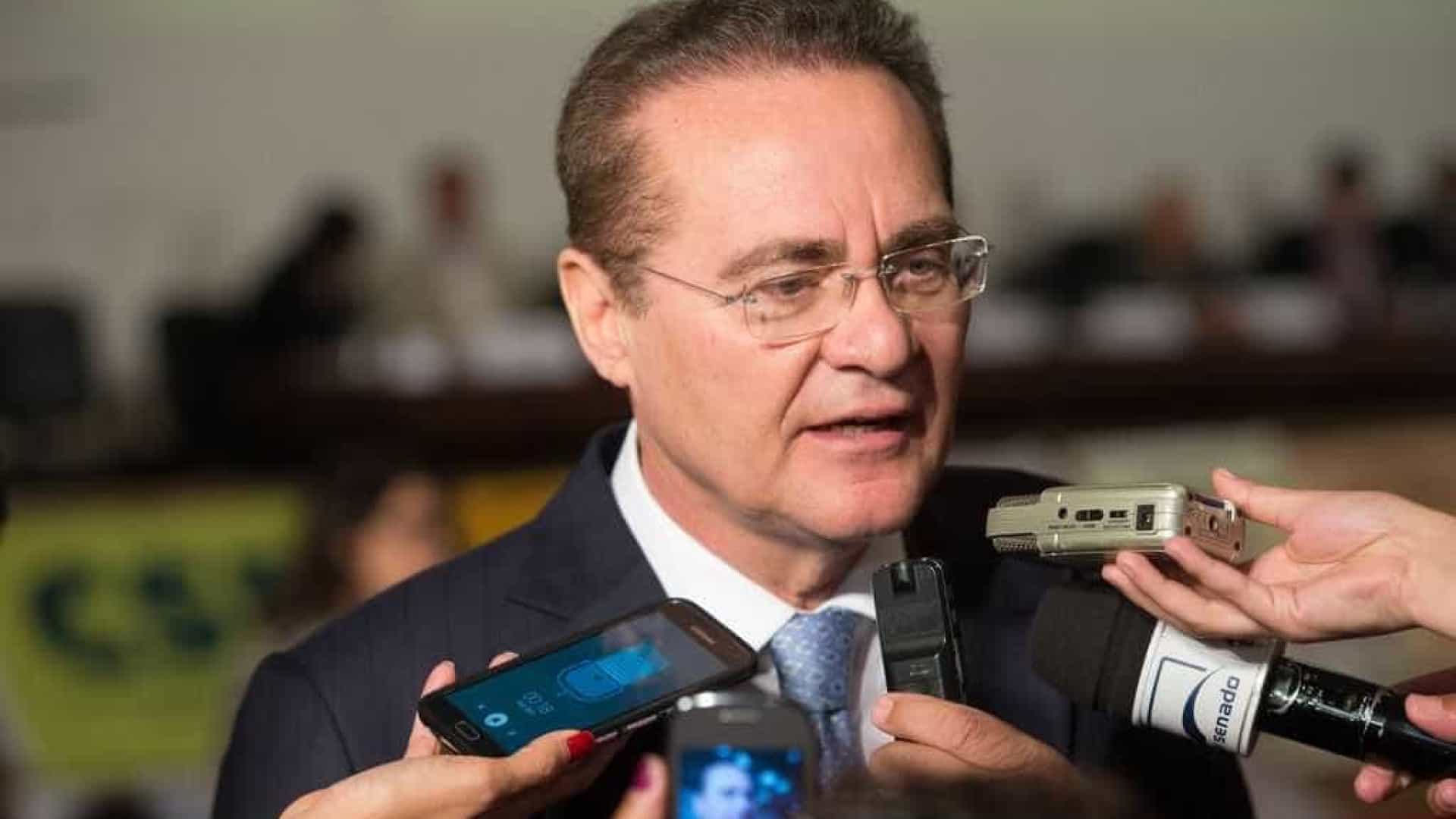 Renan Calheiros vira réu e diz não haver provas contra ele