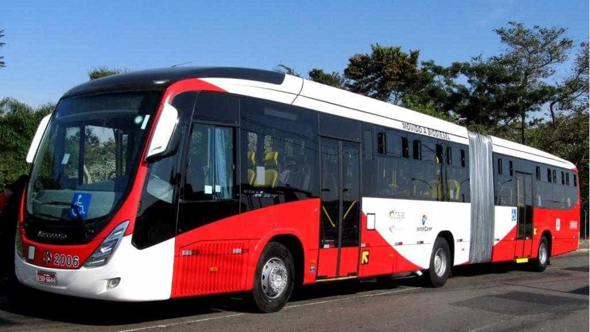 Tarifa de ônibus em São Paulo passará a custar R$ 4 em 2018