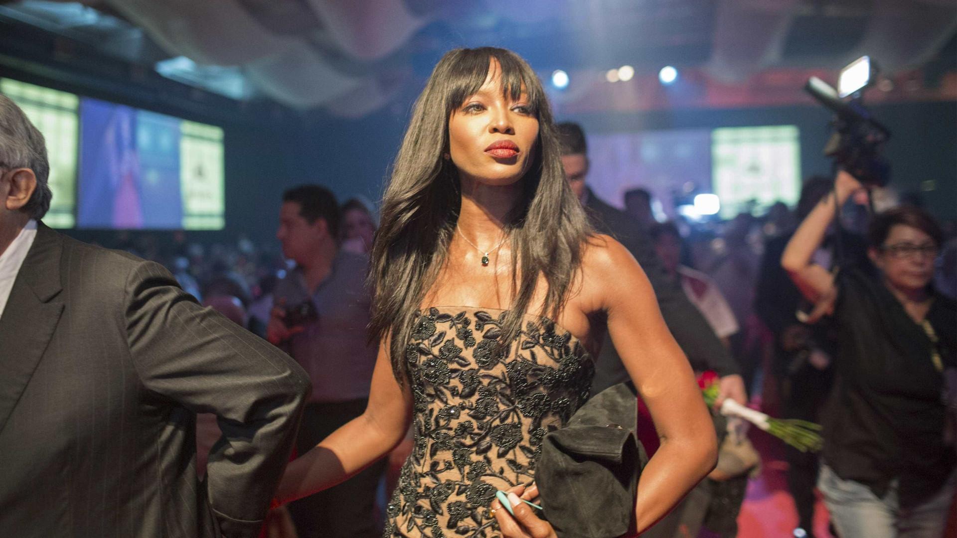 Vídeo comprometedor de Naomi Campbell  circula na internet