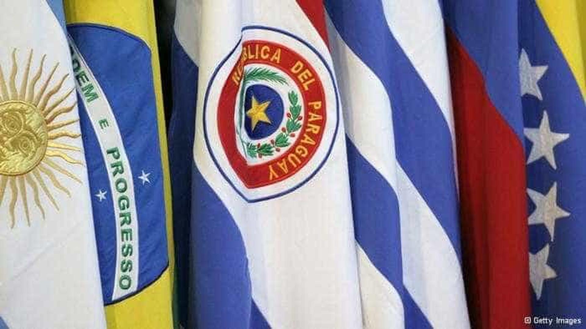 Países do Mercosul oficializam suspensão da Venezuela do bloco