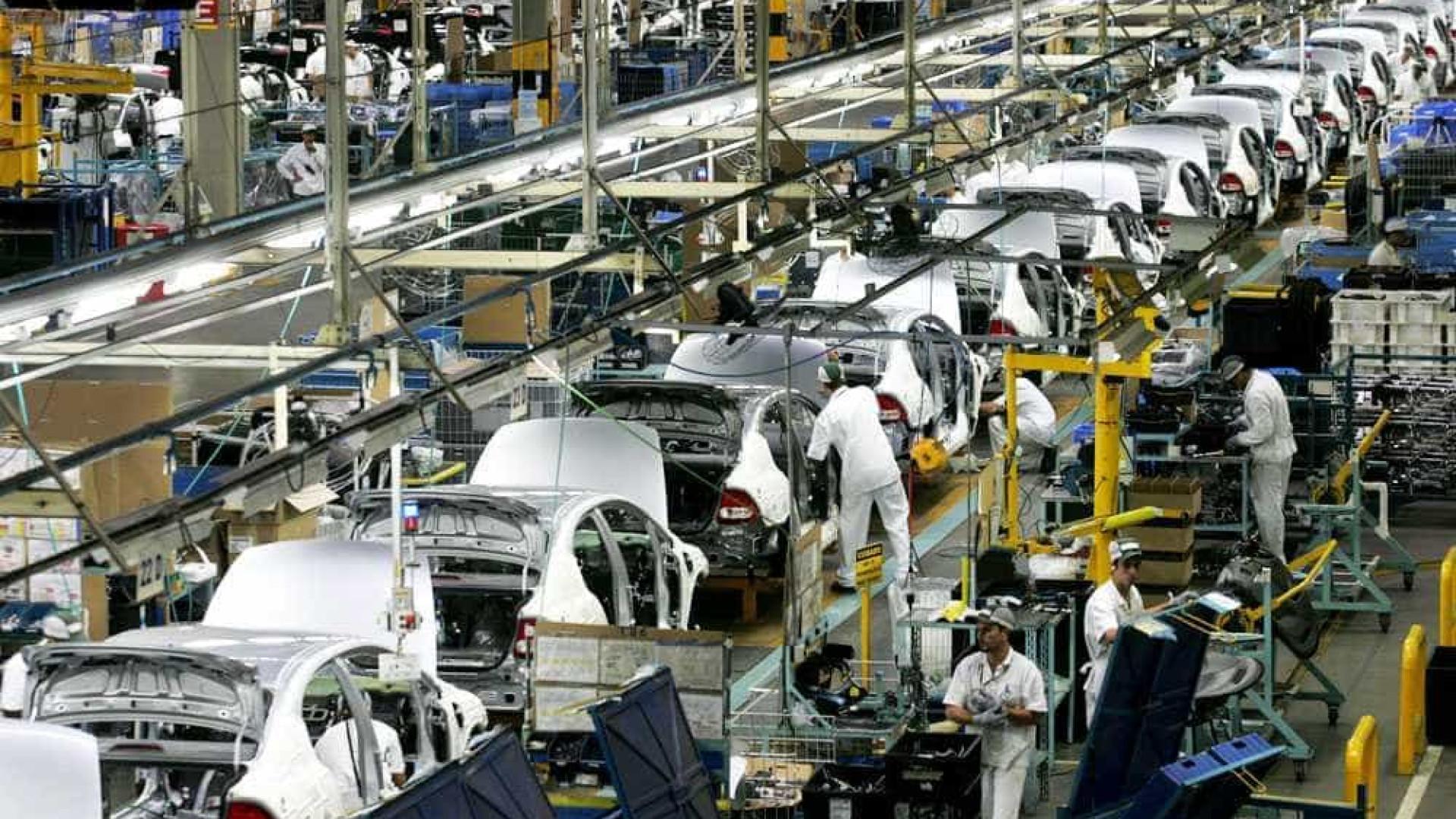 Produção de veículos em fevereiro tem melhor resultado em 4 anos
