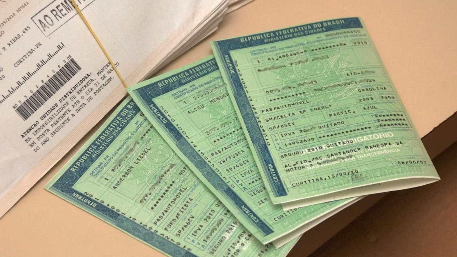 Prazo para pagar IPVA com 10% de desconto termina nesta quarta-feira