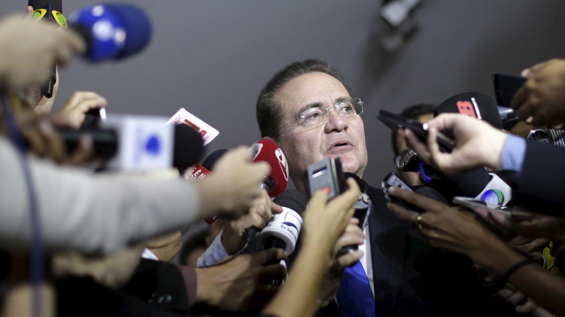 Ministro do STF arquiva inquérito contra Renan e Jucá