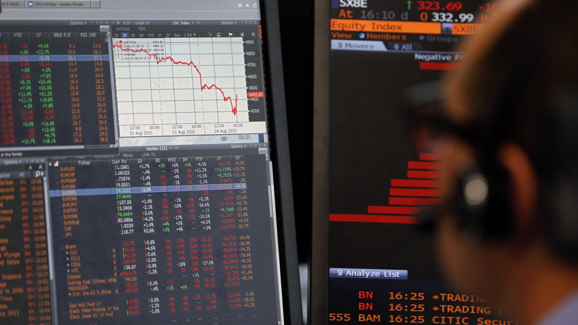 Investidores adotam pessimismo e deixam ativos brasileiros