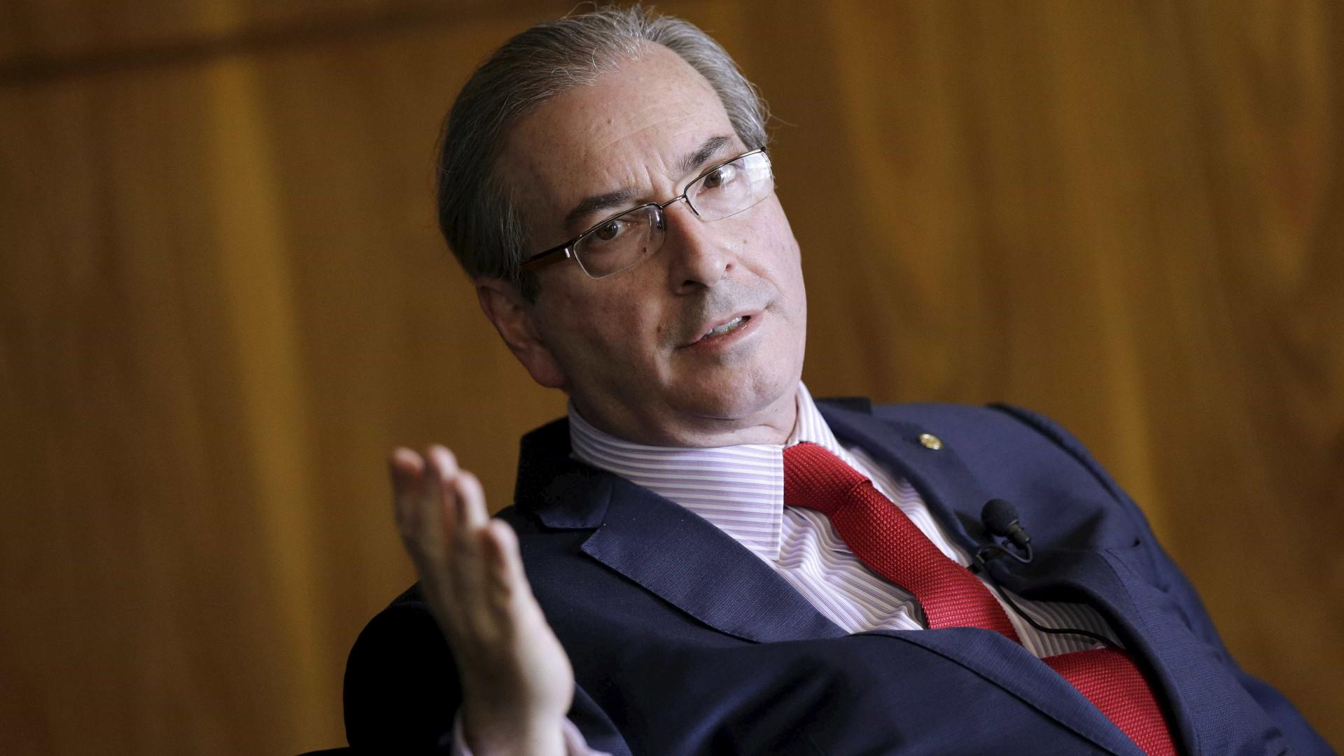 MP criminaliza doações eleitorais, diz Cunha em depoimento