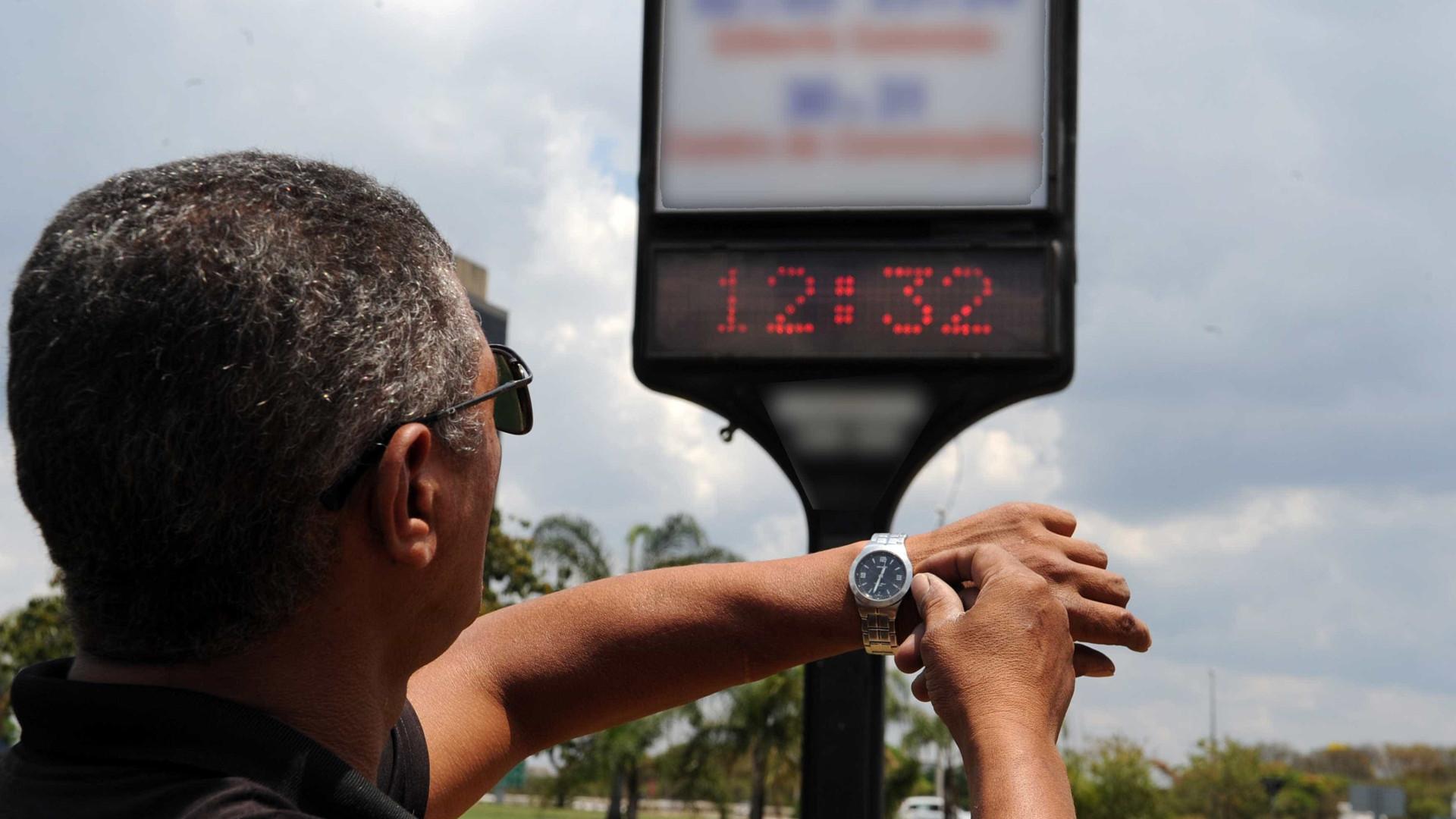 Governo decide manter início do horário de verão em 4 de novembro