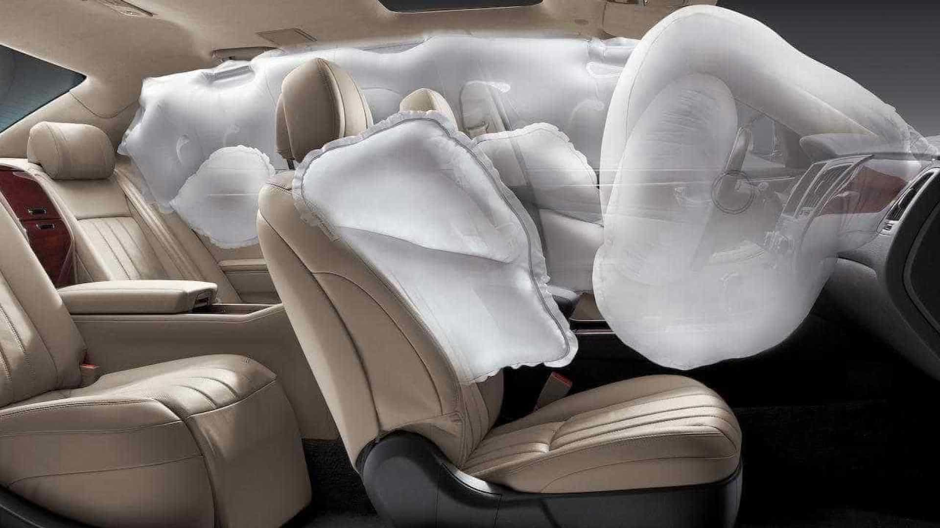 Recalls de airbags aumentaram 80% em 2017