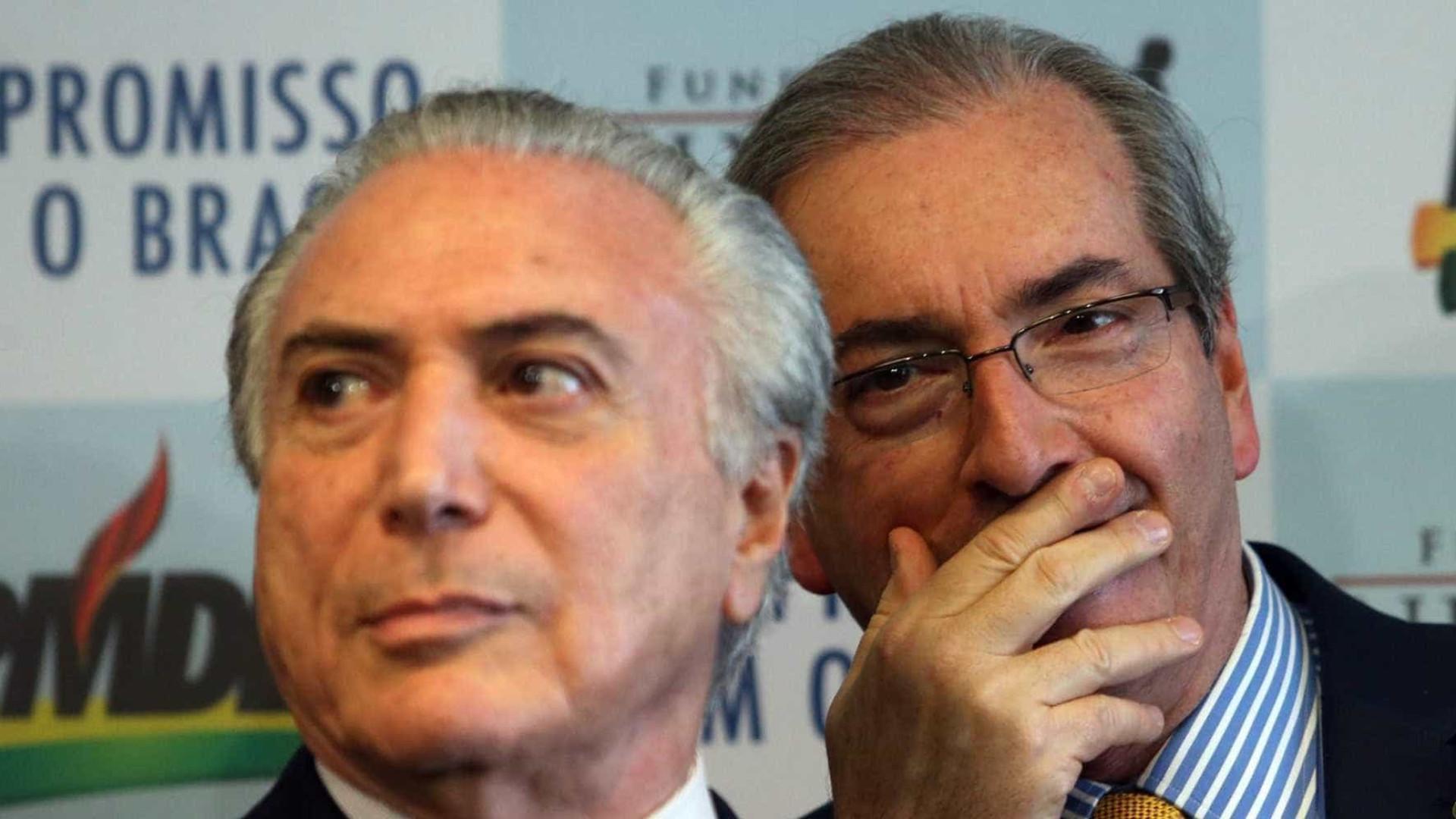 Temer disse que poderia ajudar Cunha com dois ministros, diz Joesley