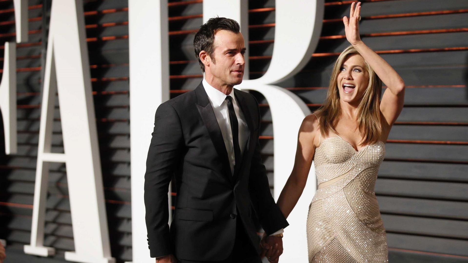Justin Theroux fala pela 1ª vez sobre divórcio com Jennifer Aniston