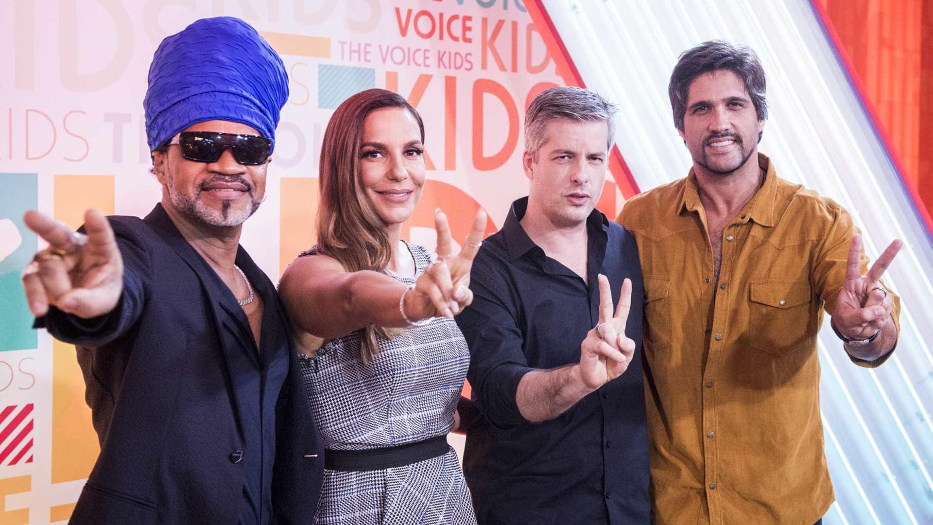 Com Brown, Ivete, Victor e Léo, 'The Voice Kids terá André Marques