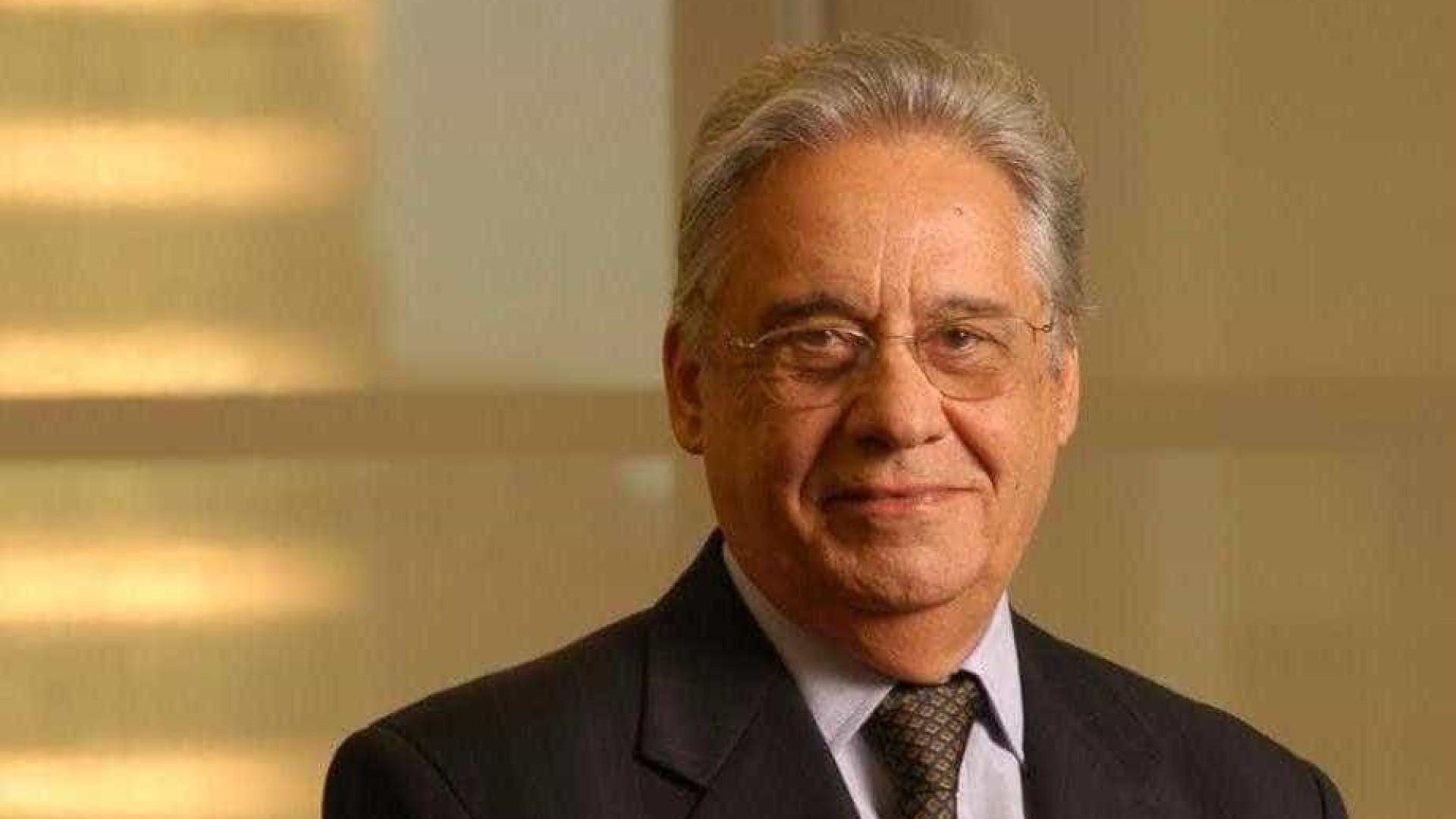FHC: 'se Temer cair, deve haver eleições diretas'
