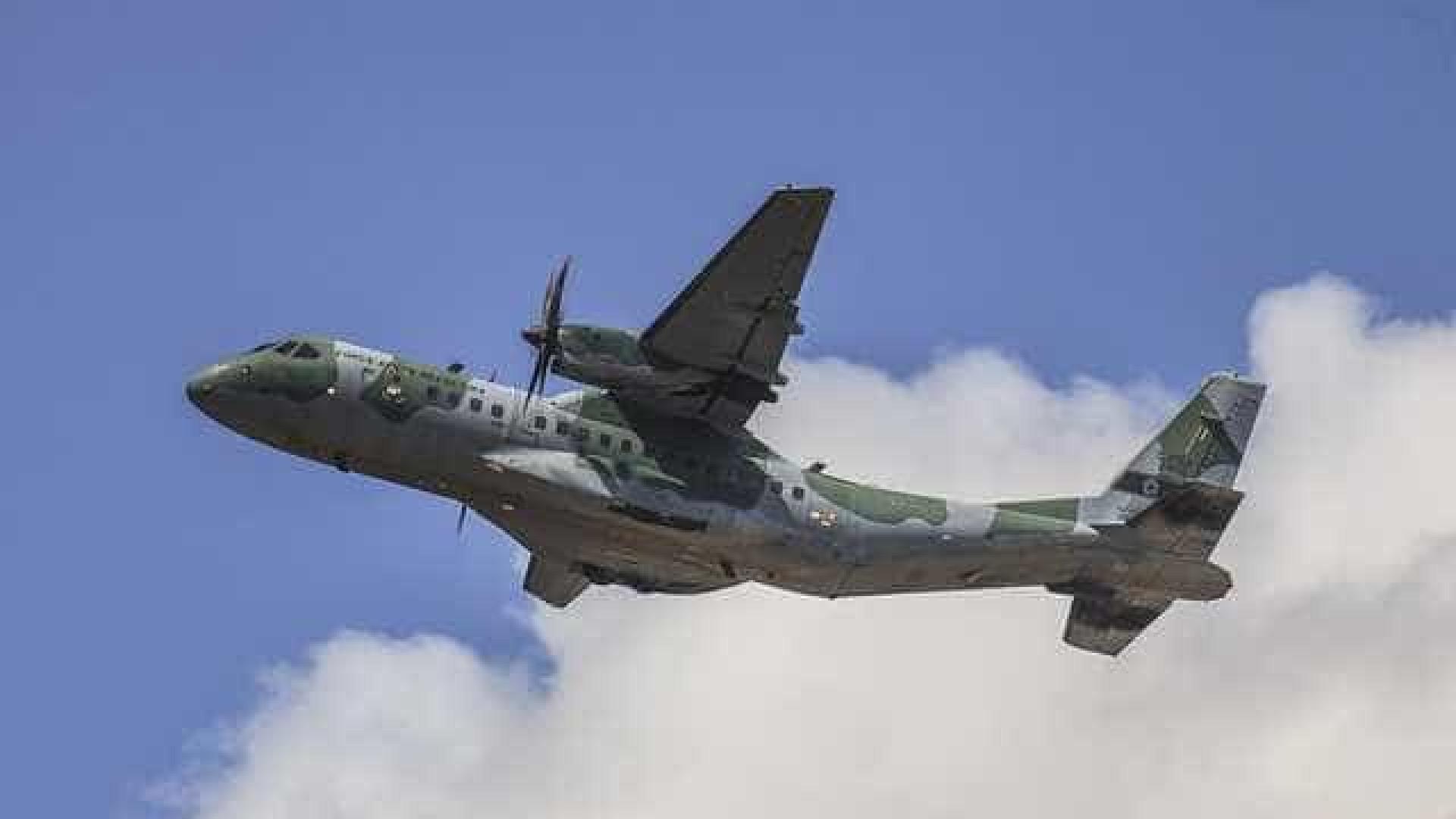 Aviões da FAB estão de prontidão para prestar auxílio na Colômbia