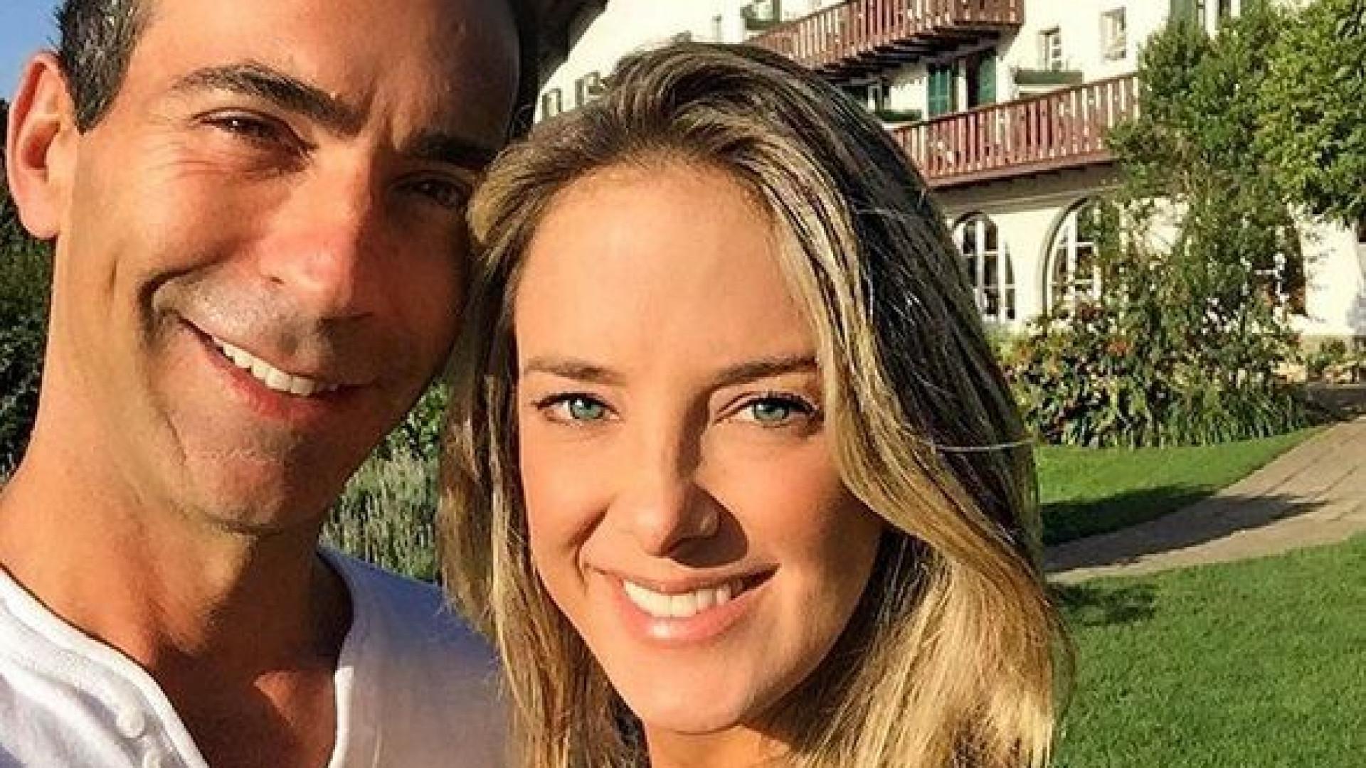 Tici Pinheiro ganha obra de arte de Tralli e fãs pedem volta do casal