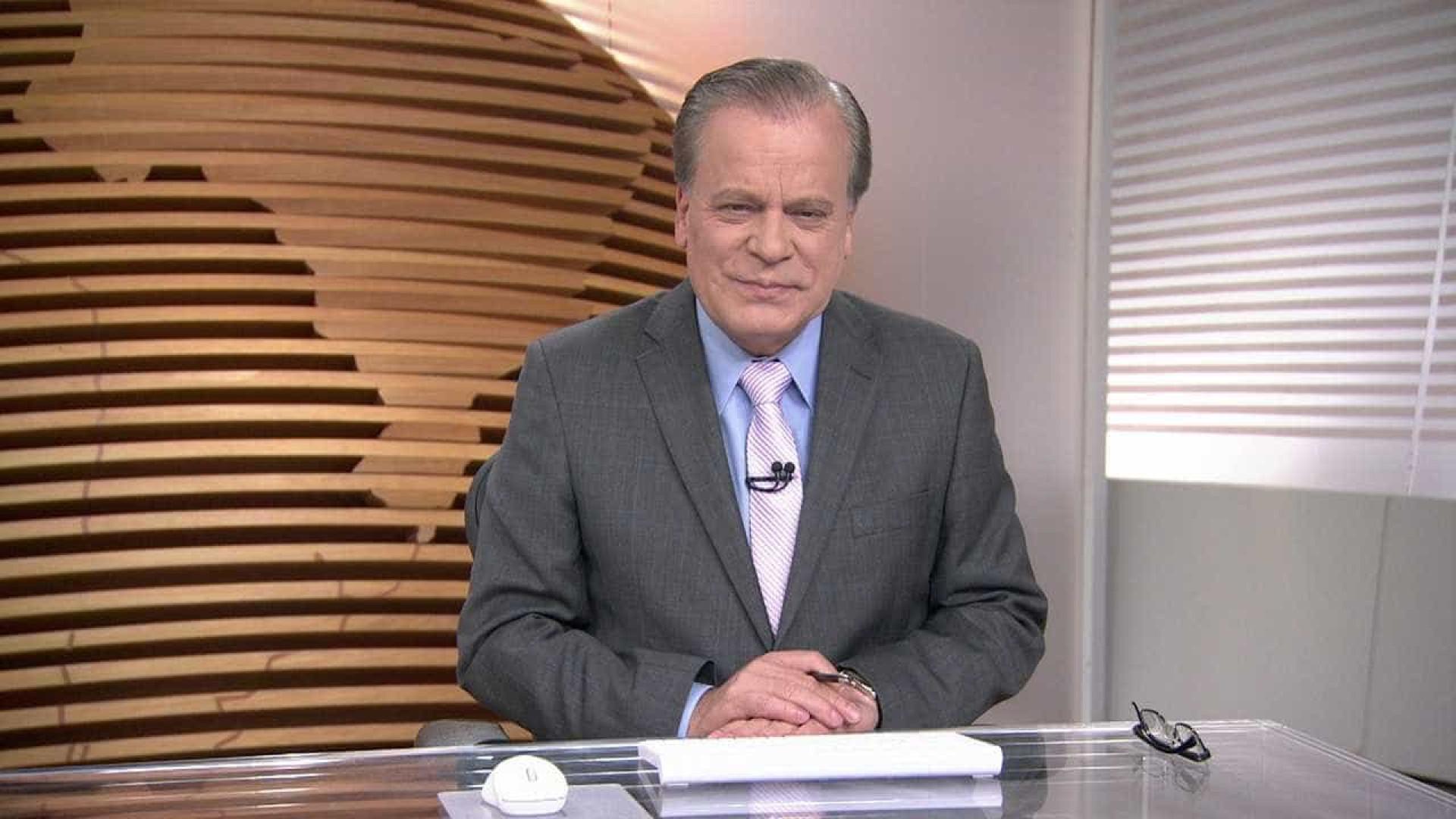 Chico Pinheiro volta à Globo após procedimento no coração