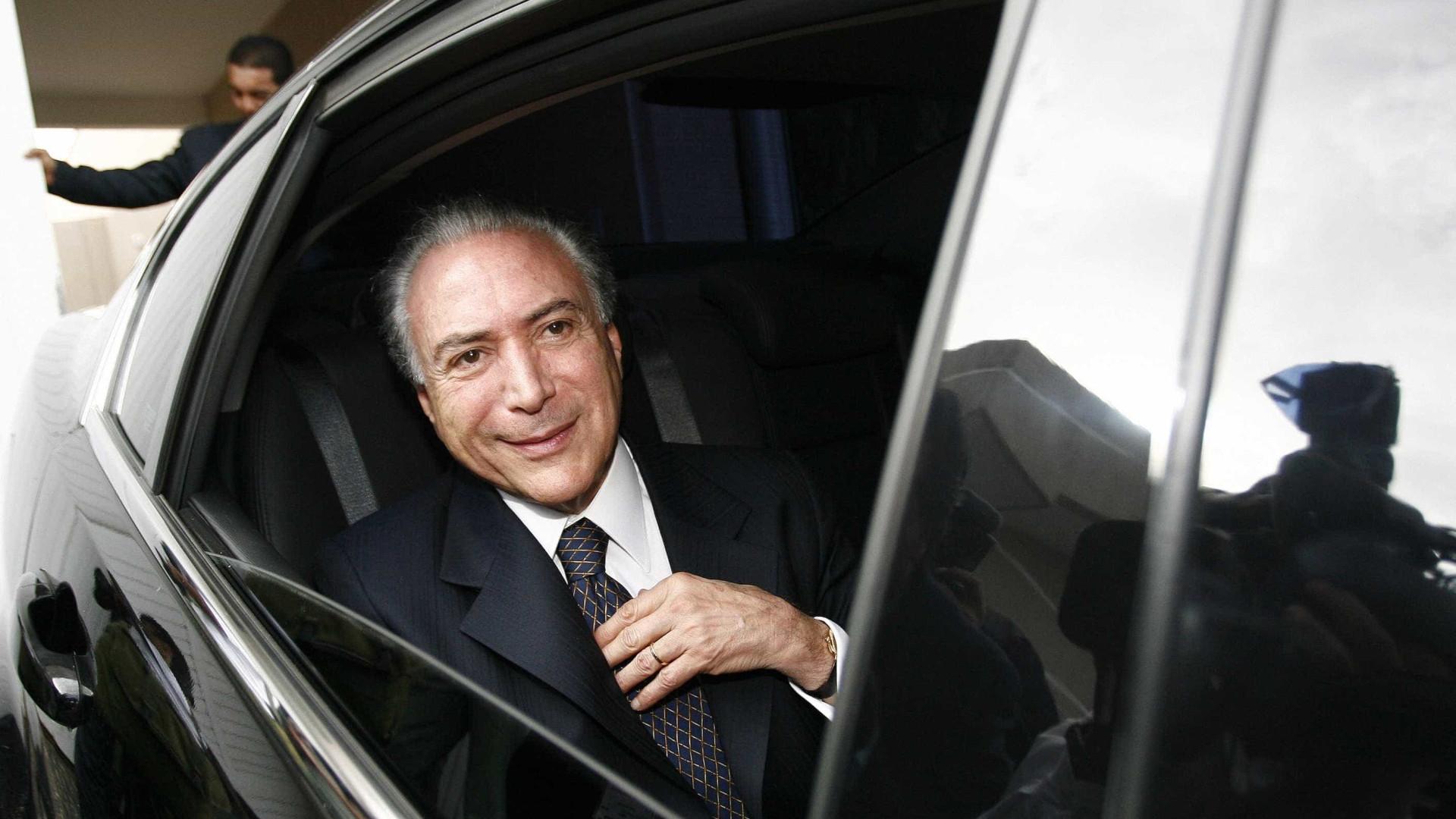 Temer é liberado após consultas médicas em São Paulo