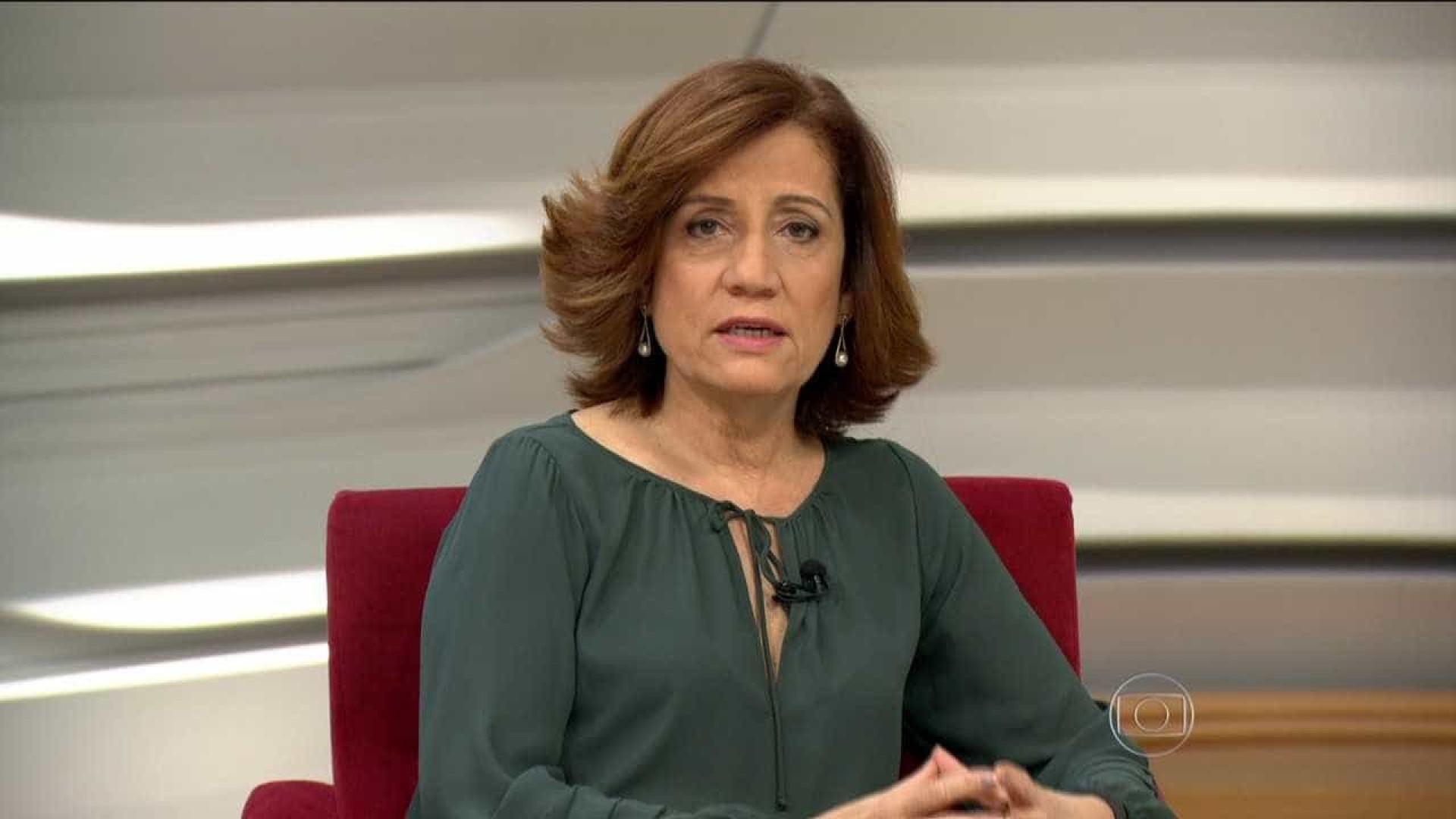 Miriam Leitão lê nota da Globo sobre ditadura e vira piada na internet