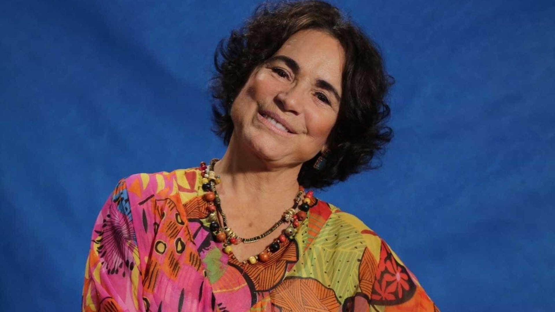 Regina Duarte aos 70 anos: 'Sou aquela expansiva incontrolável'