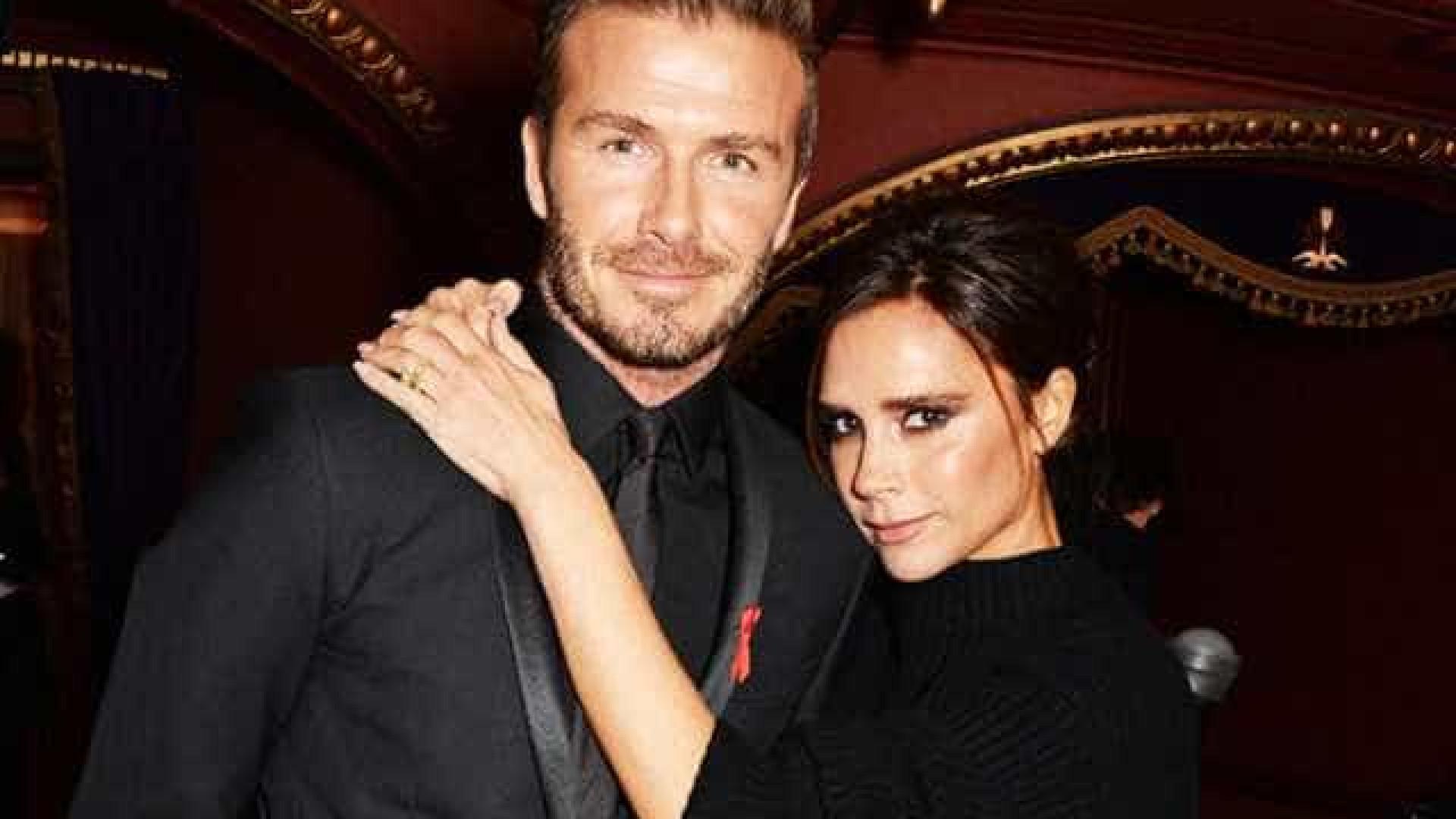 Victoria e David Beckham viram 'Simpsons' depois de serem 'recusados'