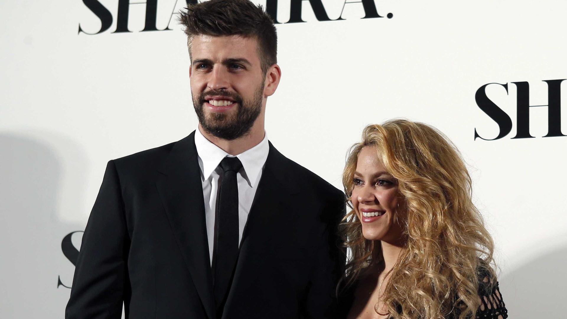 Boatos de separação de Shakira e Piquéviralizamnas redes sociais