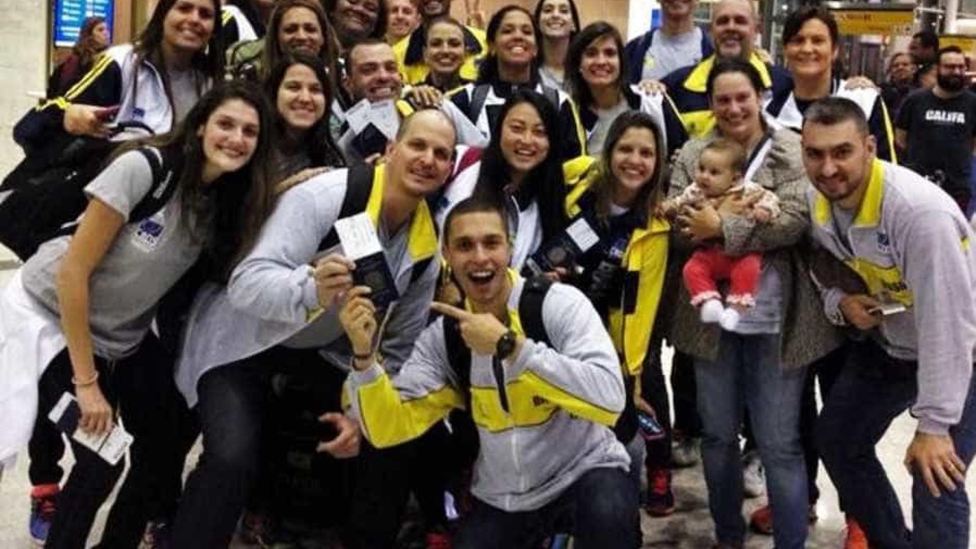Seleção brasileira de vôlei de surdos disputa Pan nos Estados Unidos