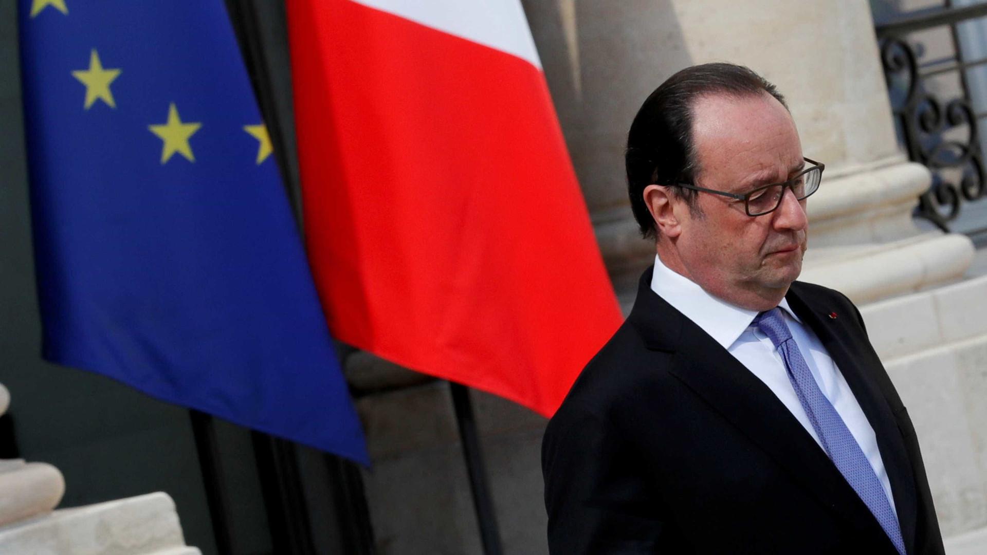 Hollande anuncia que não se candidatará à reeleição