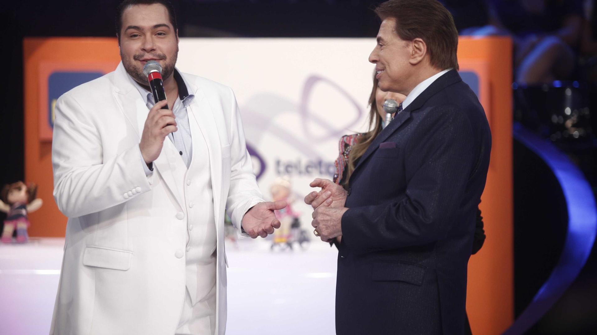 Silvio sobre o neto: 'Tiago Abravanel está na Globo e não ganha nada'