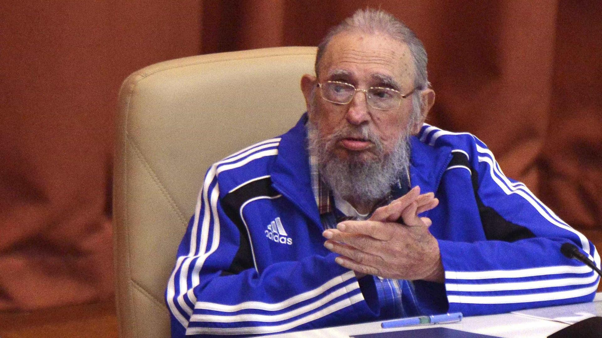Fidel e Adidas: o gosto capitalista do líder cubano