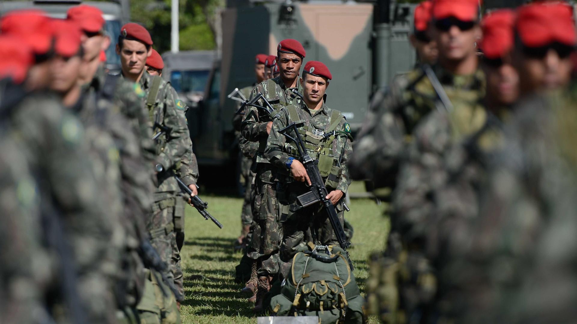 Investimentos militares no governo Temer crescem 36%