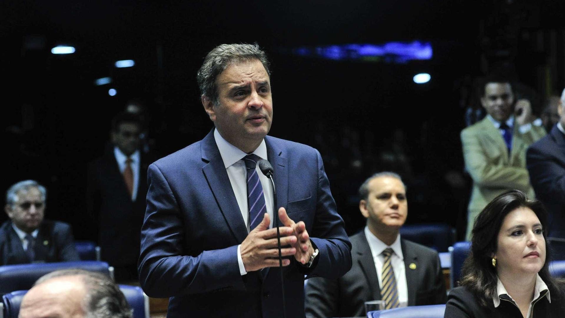 Conselho de Ética do Senado deve decidir futuro de Aécio em novembro