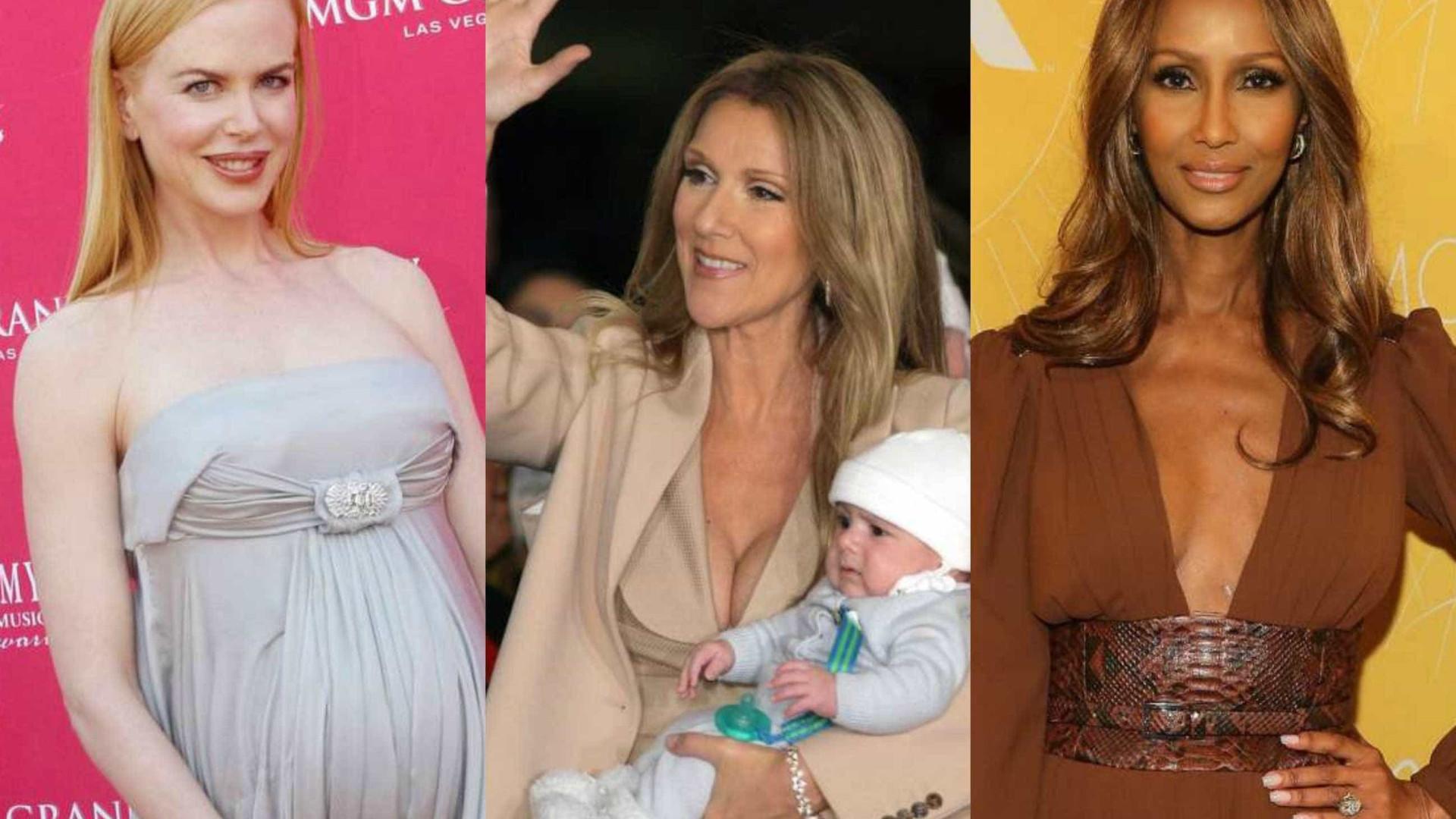 As famosas que se tornaram mães após os 40 anos