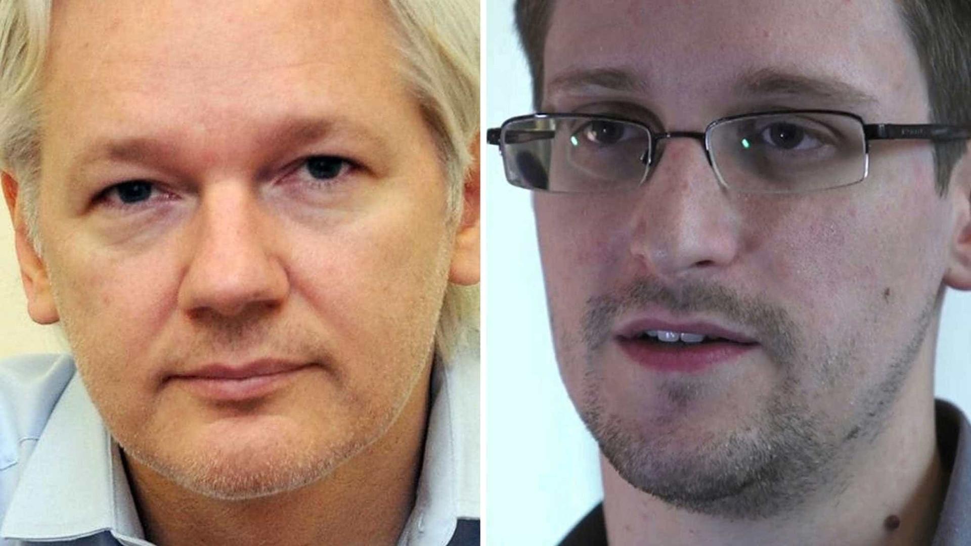 Snowden sai em defesa de internet para Assange