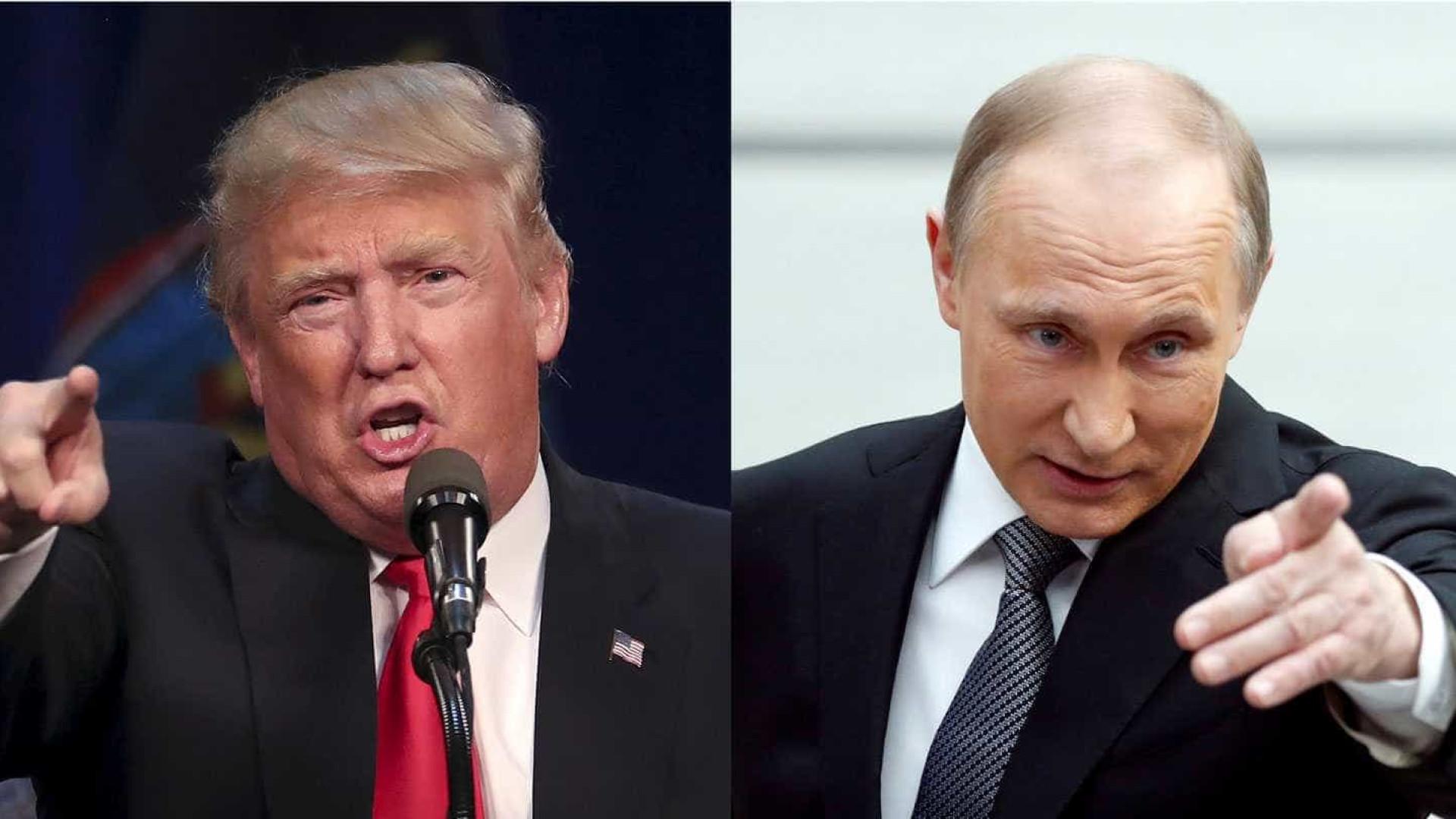 Trump quer se encontrar  com Putin antes da tomada de posse