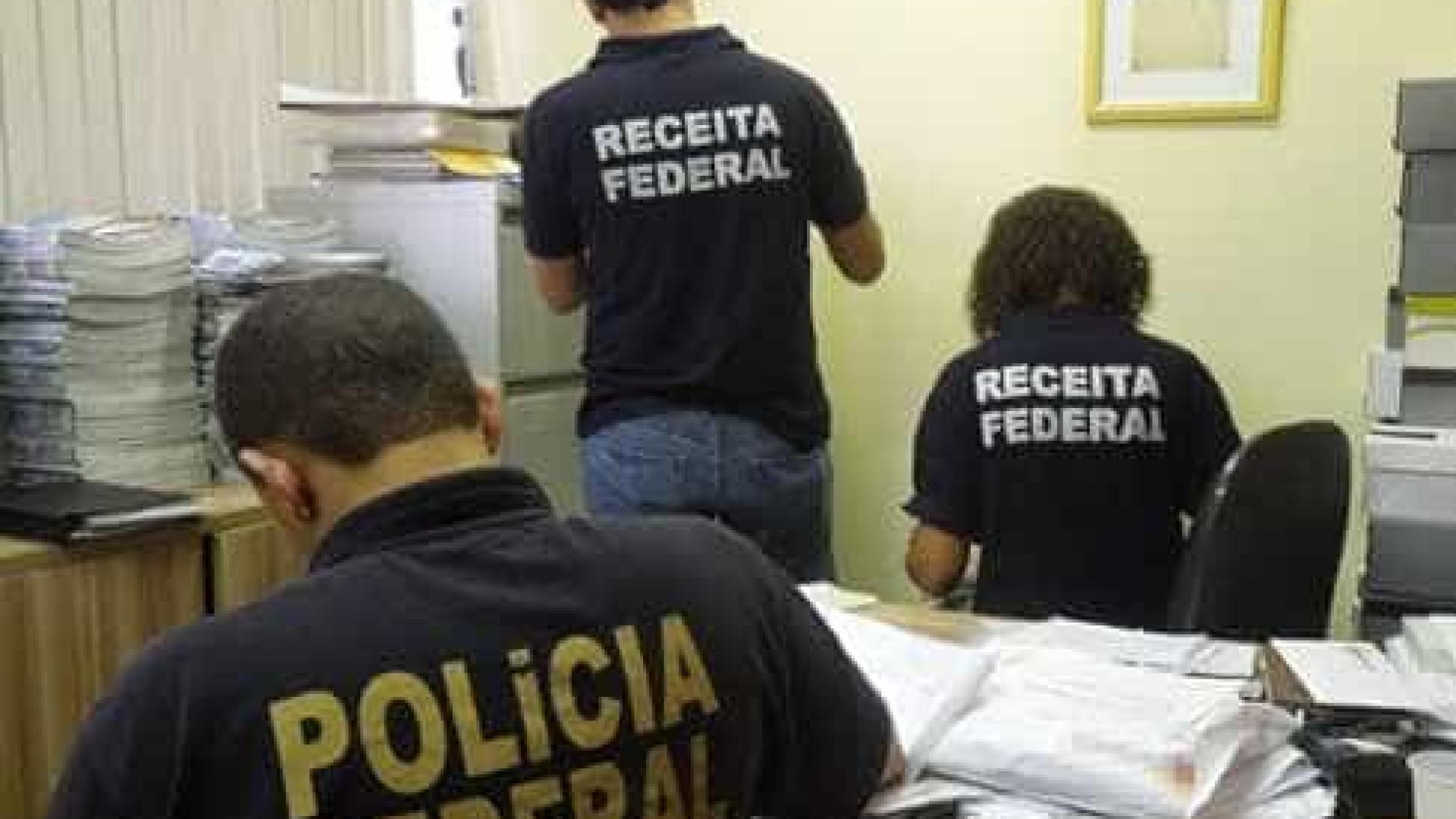 PF deflagra operação que investiga  fraude à Receita Federal