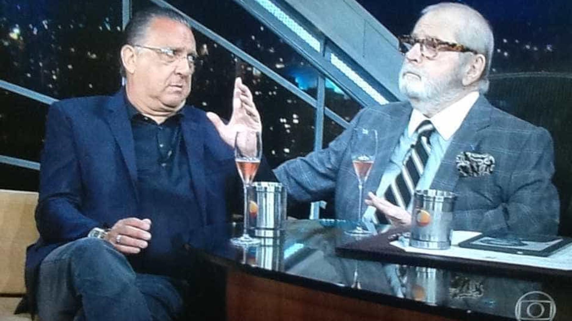 Galvão Bueno e Jô Soares discutem no 'Programa do Jô'; saiba por quê