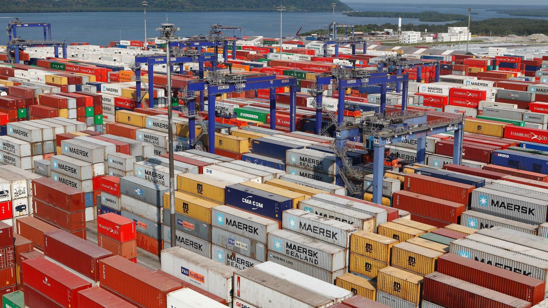 Balança comercial atinge US$ 2,6 bi nas primeiras semanas de fevereiro