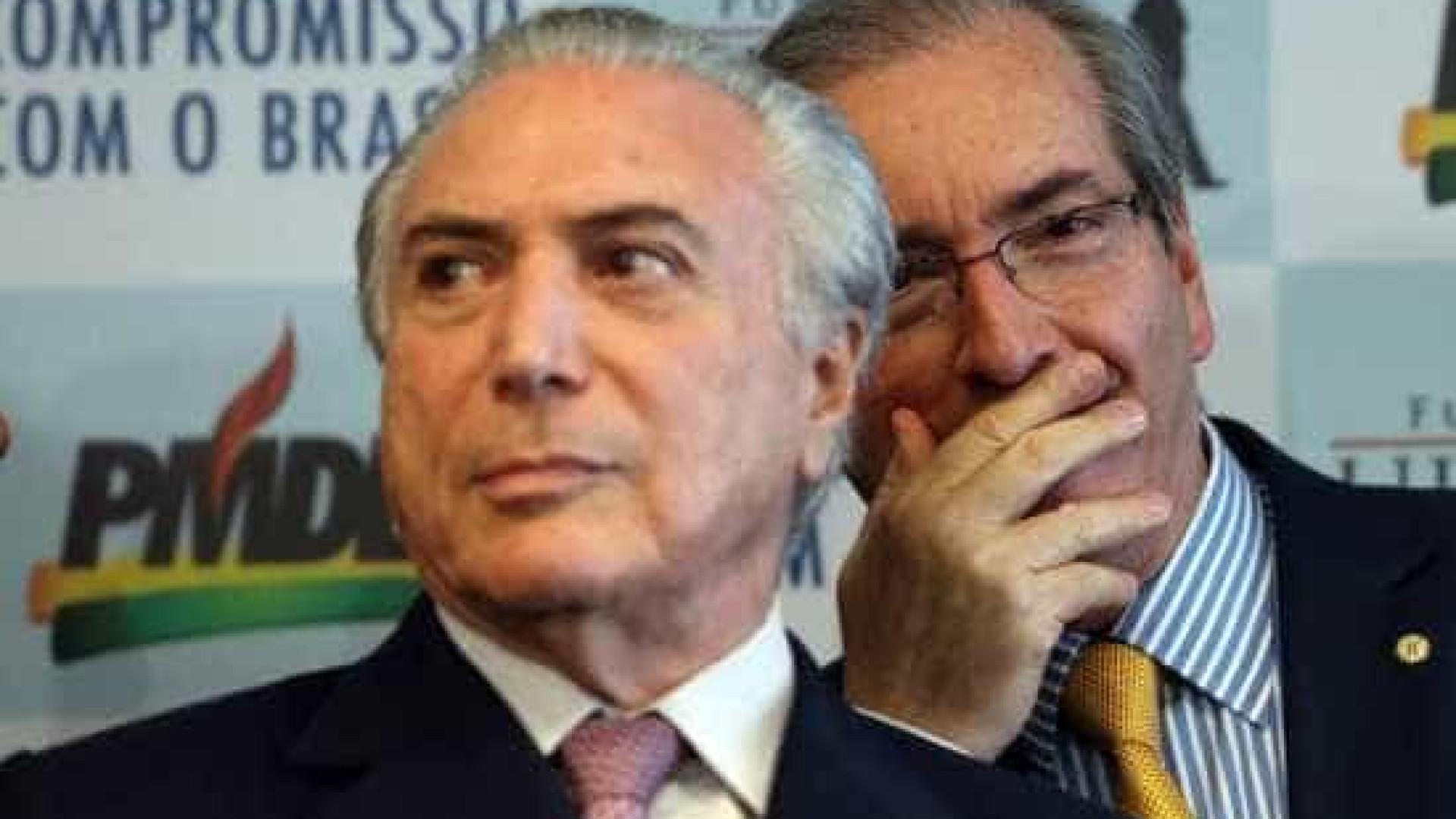 Na Justiça, Cunha questiona Temer  sobre vantagem a Moreira