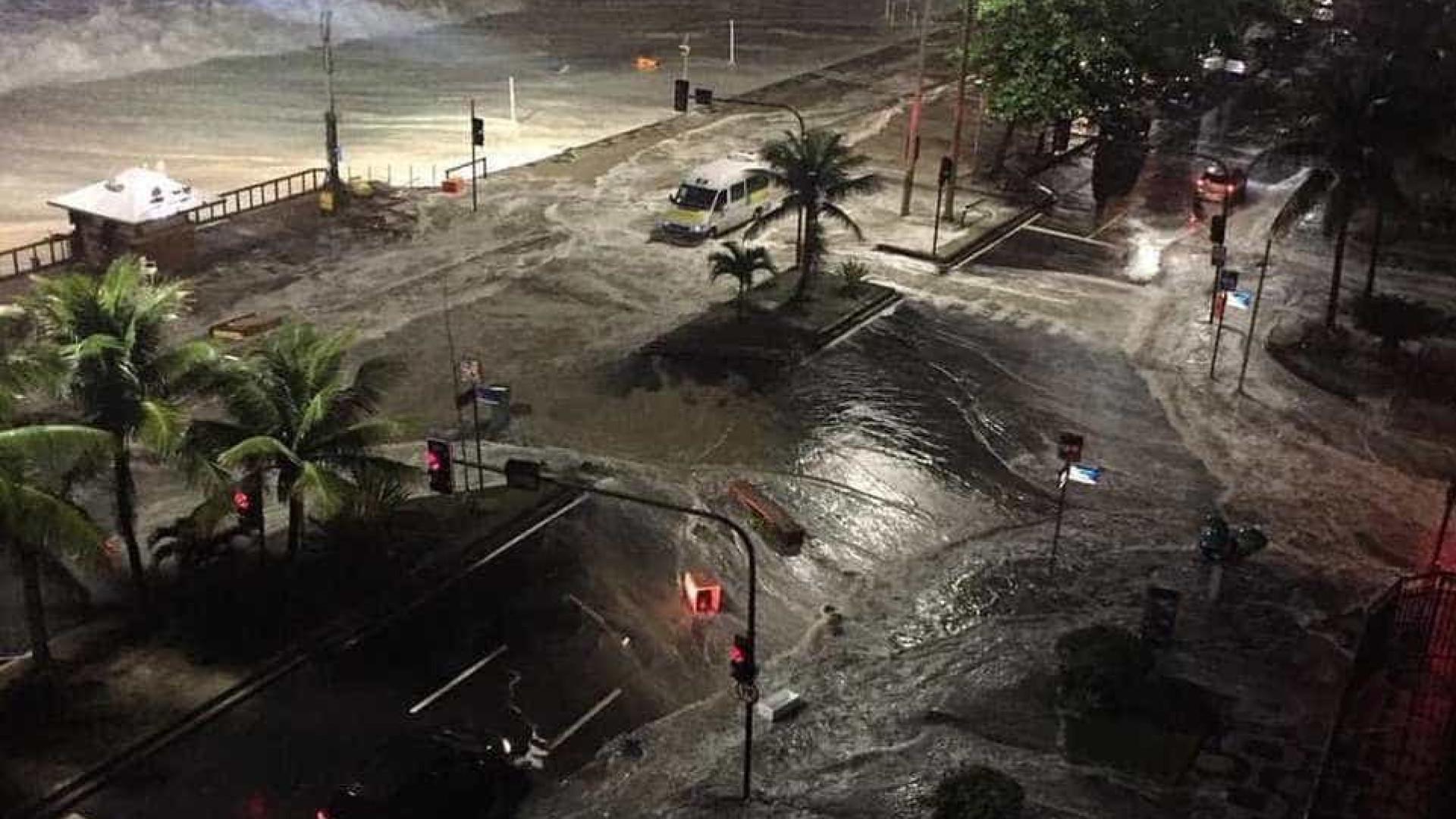 Previsão de ressaca segue até esta segunda-feira no Rio de Janeiro
