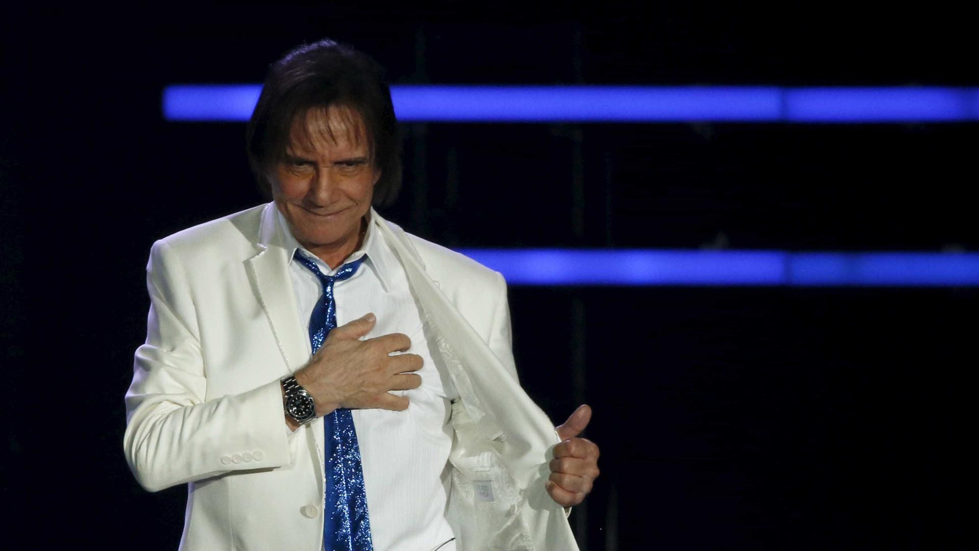 "Roberto Carlos elogia Sergio  Moro: ""Tem muita coragem"""