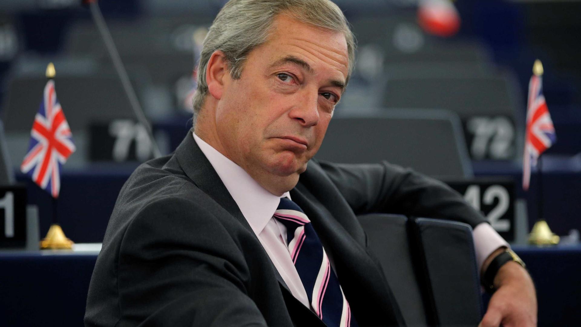 Líder do Partido de Independência do fala em '2º referendo' para Brexit